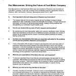 Q&A with Paul Mascarenas, Chief Technical Officer and Vice President of Research and Innovation at Ford Motor Co. (May 24, 2011)